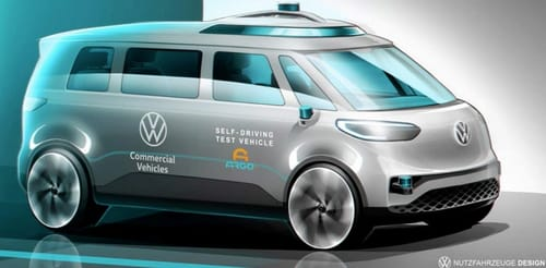 Volkswagen ID Buzz passes the self-driving test