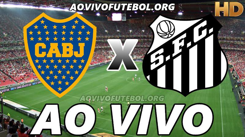 Boca Juniors x Santos Ao Vivo HDTV