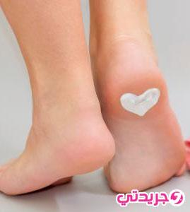 اليكي وصفة سحرية لنعومة كعب قدميك