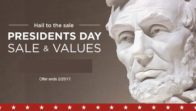Presidents Day Sales 2017, Appliances, Mattresses, TVs, Furniture Online sale