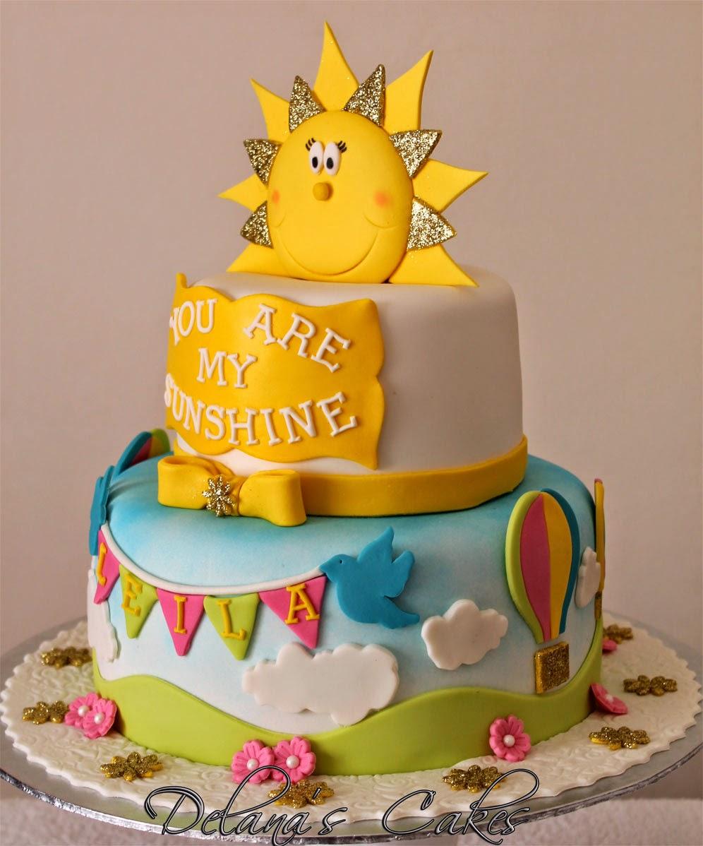 Delana S Cakes You Are My Sunshine Cake