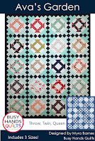 Ava's Garden by Myra Barnes of Busy Hands Quilts