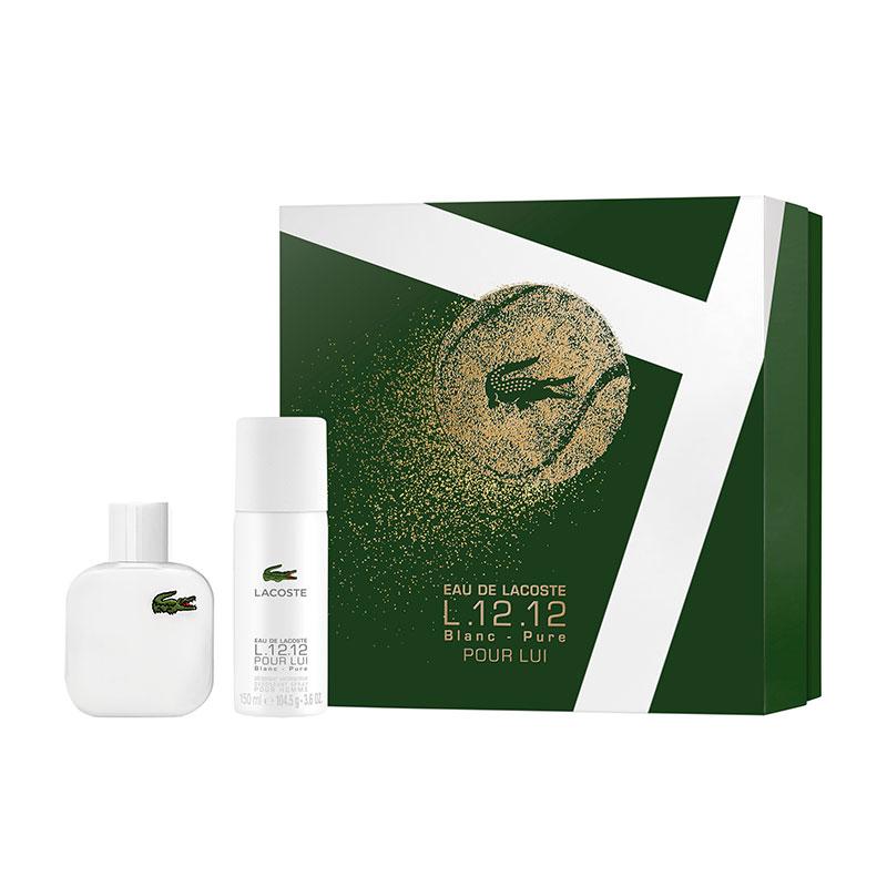 Lacoste Blanc Gift Set