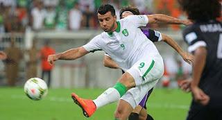 نتيجة مباراة الاهلى والباطن فى دورى عبداللطيف جميل السعودي لكرة القدم اليوم 20-11-2016