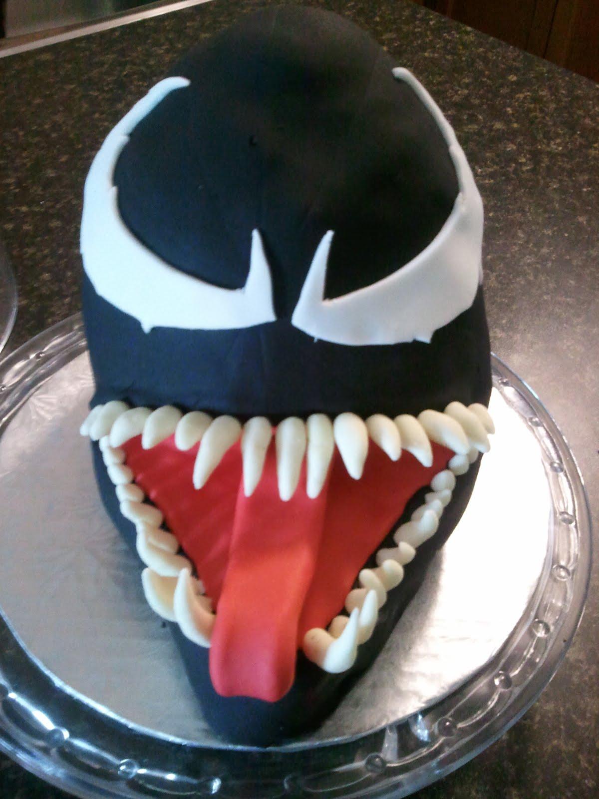 Lucky 7 Cakes Spiderman Venom Cake