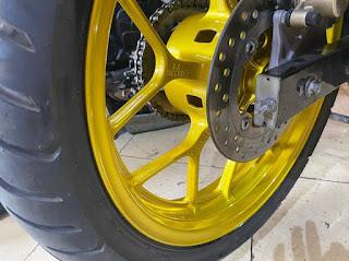 Winner 150  sơn phối màu vàng đen cực đẹp