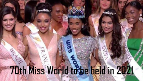 Miss World se posterga hasta el 2021