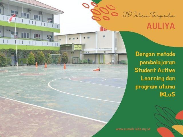 sekolah dasar islam terpadu Auliya