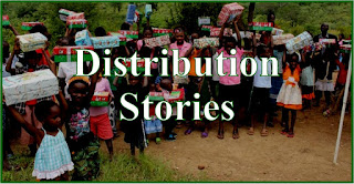 Operation Christmas Child Distribution Stories