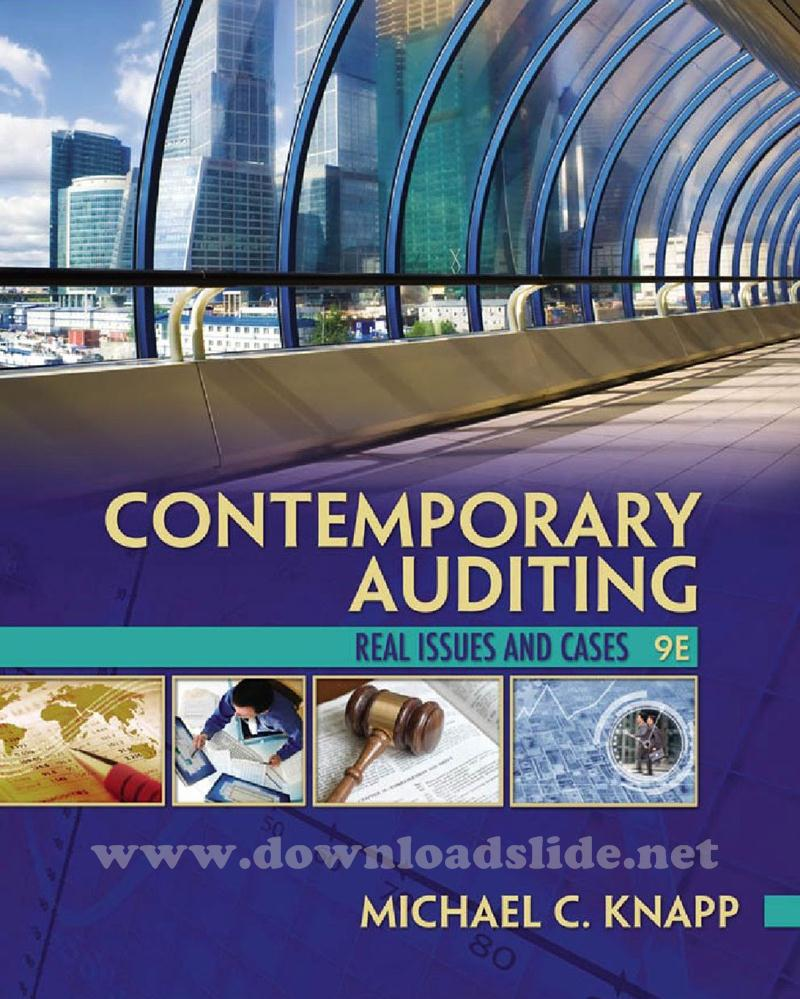 Download ebook auditing and assurance services 16th edition by arens ebook contemporary auditing 9th edi fandeluxe Images