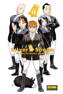SILVER SPOON 12  Manga de Hiromu Arakawa Reseña de Silver Spoon 12 desde Norma Editorial