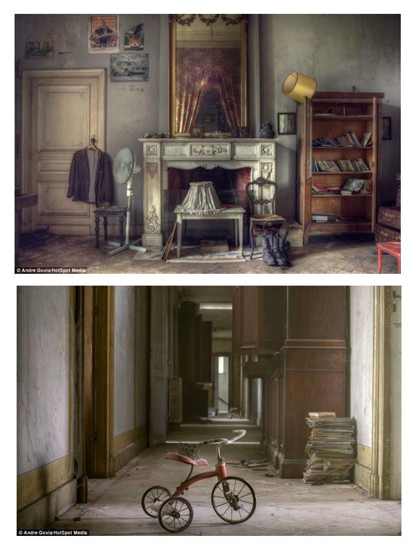 Casa abandonada en Belgica