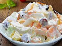 Beragam Resep Cara Membuat Salad Buah Enak