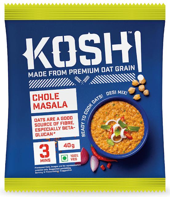 KOSH - Chole Masala - Savoury Instant Oats