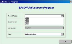 Resetter Epson l210