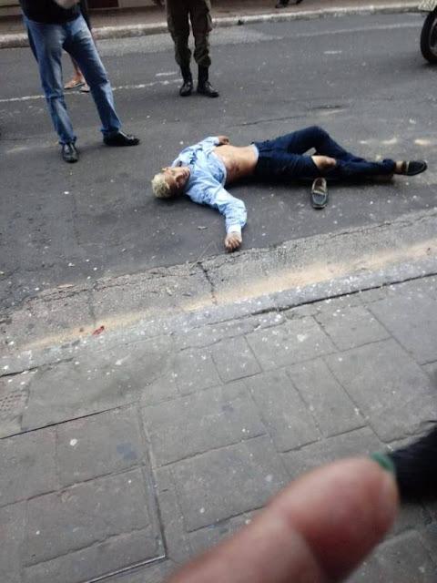 Acusado de assalto é assassinado com dois tiros nas costas no Centro de Teresina
