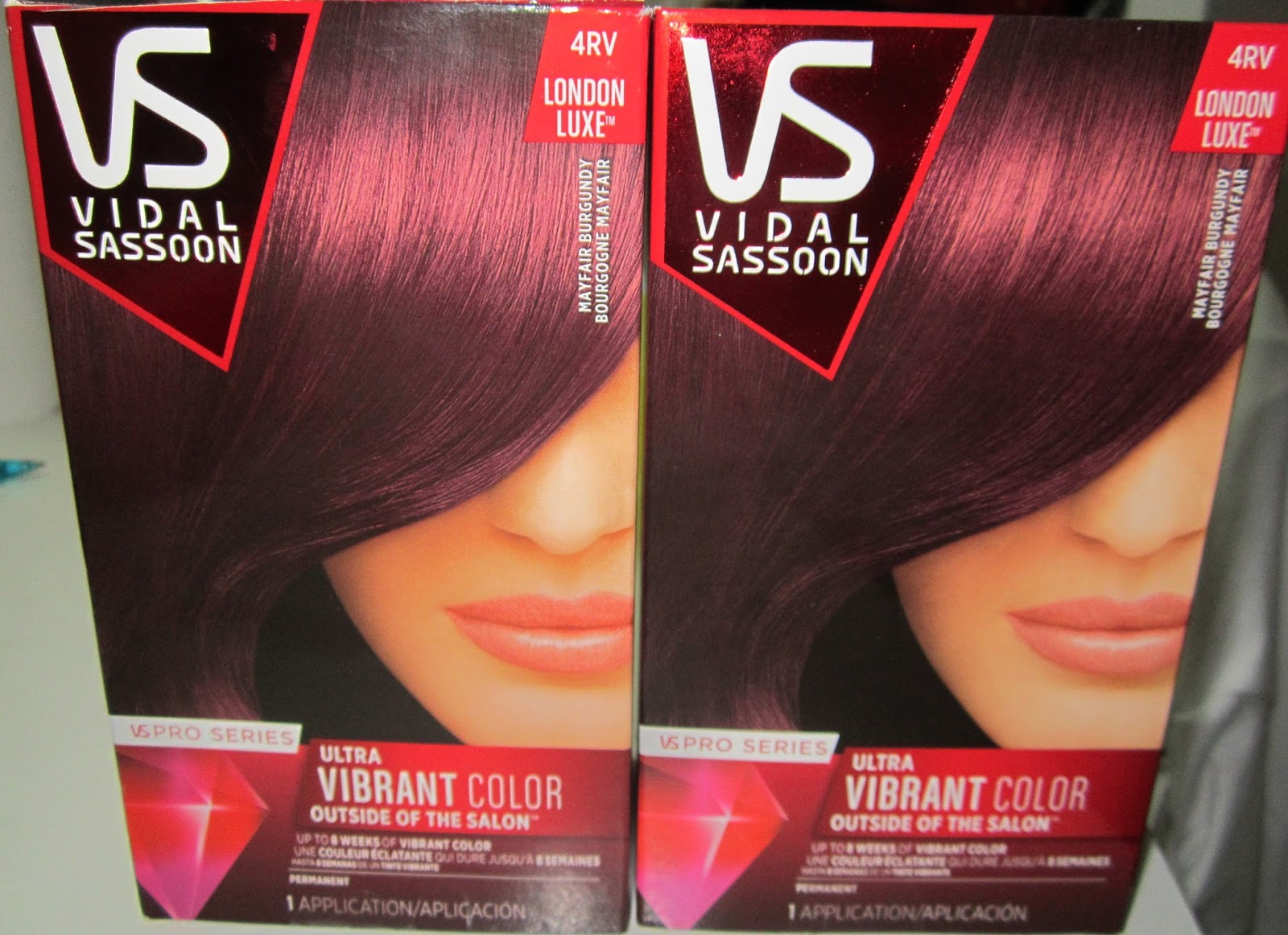 Vidal Sassoon Burgundy Hair Color Find Your Perfect Hair Style