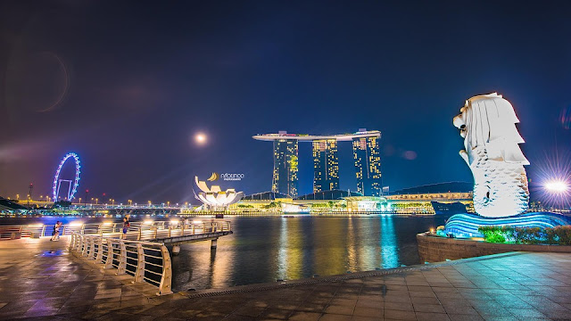 Experience the mesmerizing views of Singapore