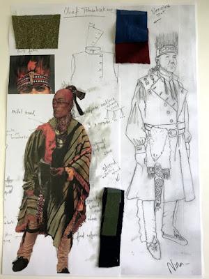 Jefe Tehwahsekwe del capitulo 4x13 de outlander