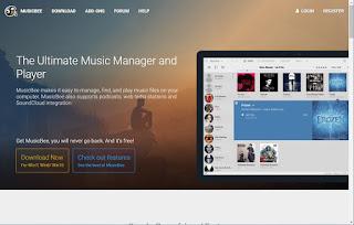 MusicBee player