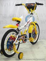Sepeda Anak United Meteor DC Super Friends 18 Inci