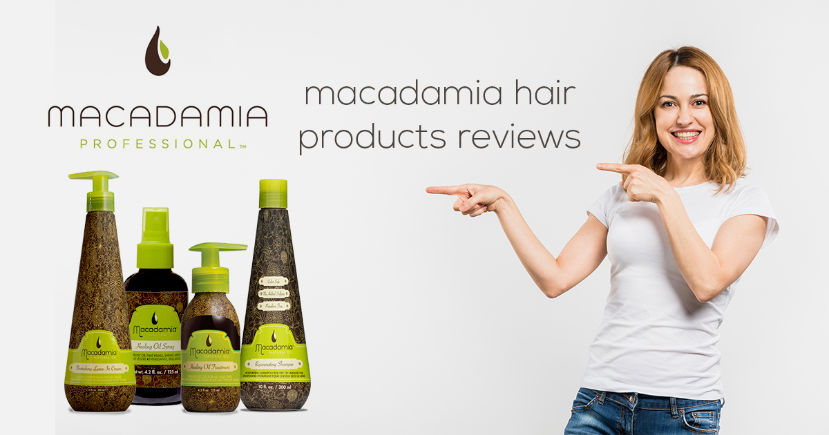 macadamia hair care products