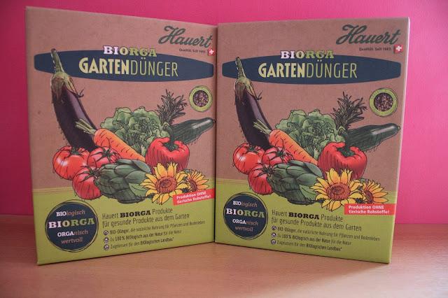 Hauert Biorga Gartendünger.