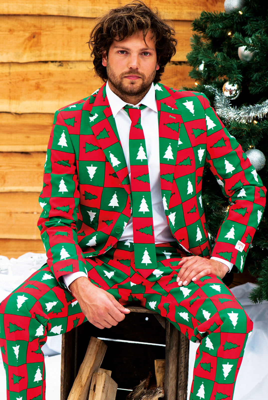 ugly christmas sweater suits h ssliche weihnachts. Black Bedroom Furniture Sets. Home Design Ideas