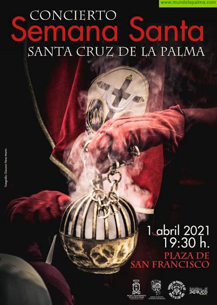 Cultura organiza este jueves un concierto extraordinario de la banda municipal de Santa Cruz de La Palma