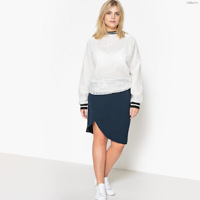 Faldas de moda para gorditas
