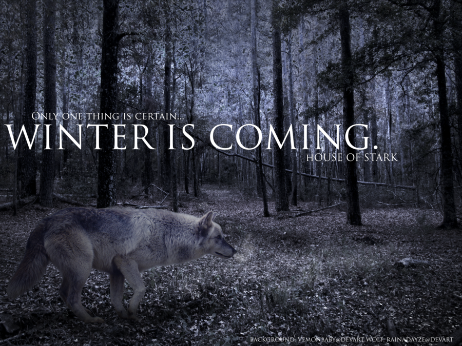 Game Of Thrones Quote Wallpaper L Hiver Vient New Blog Perso