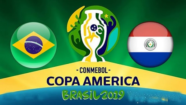 مشاهدة مباراة البرازيل وباراجواي بث مباشر اليوم الجمعة 28/06/2019