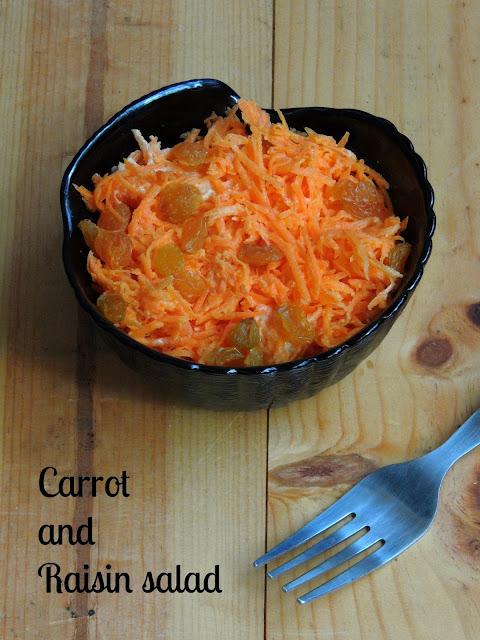 Morot- och russin sallad,Carrot & Raisin Salad
