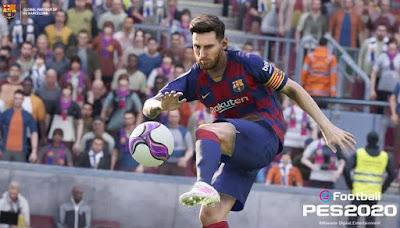 تحميل لعبة كرة القدم pes 2020