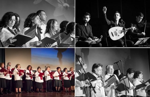 Φωτογραφίες από τη συναυλία χορωδιών 20-02-2017