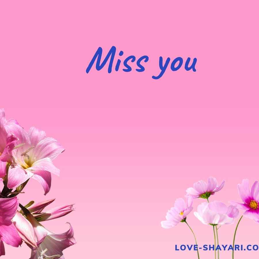 miss you quotes with images