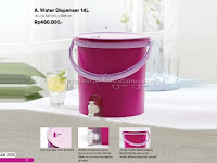 Water Dispenser 14L Tupperware Promo Juli 2020