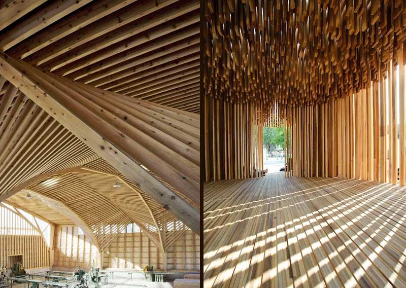10 impresionantes estructuras de maderas y sus ventajas for Arquitectura de madera