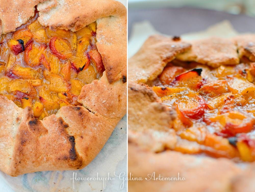 peach galette персиковая галета