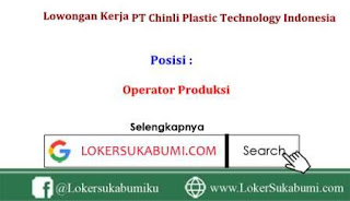 Lowongan Kerja Tangerang PT Chinli Plastic Technology Indonesia Via Email