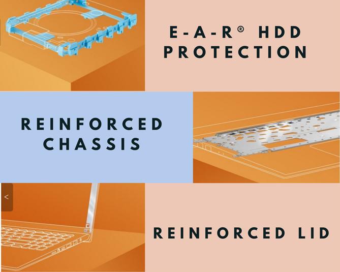 ASUS VivoBook 15 A516 terproteksi pada benturan
