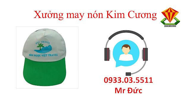 May nón lưỡi trai, nón du lịch số lượng lớn tại An Giang