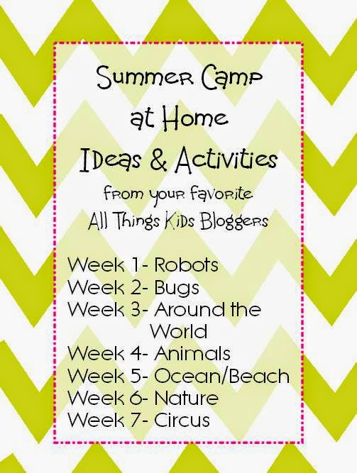 Circus Preschool Toddler Theme Summer Camp At Home The Ot Toolbox