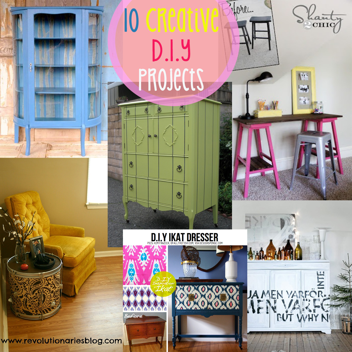Diy Home Decor Ideas On A Budget. : 10 D.I.Y Projects That