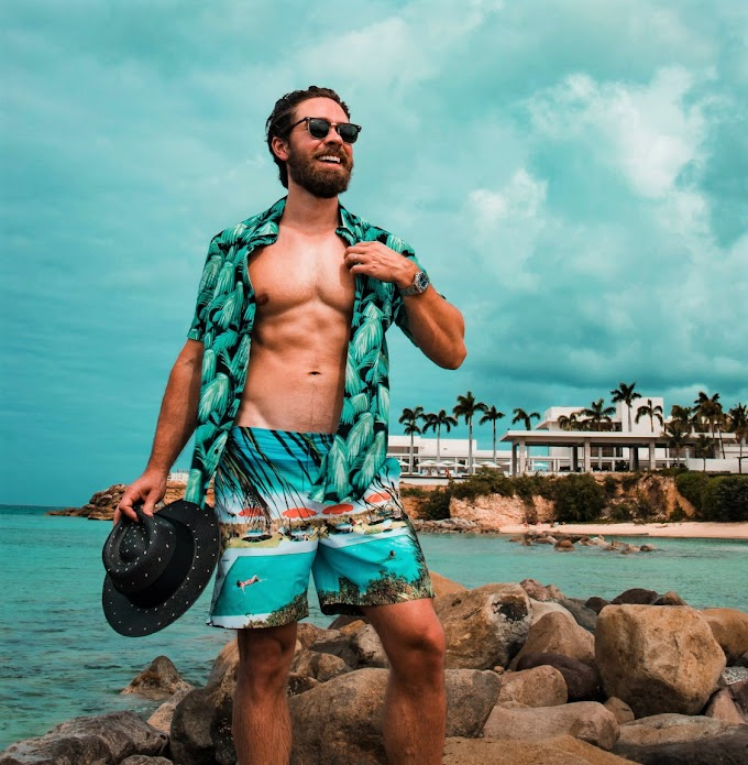 Como se manter estiloso na praia ou na pool party - Estilo Verão