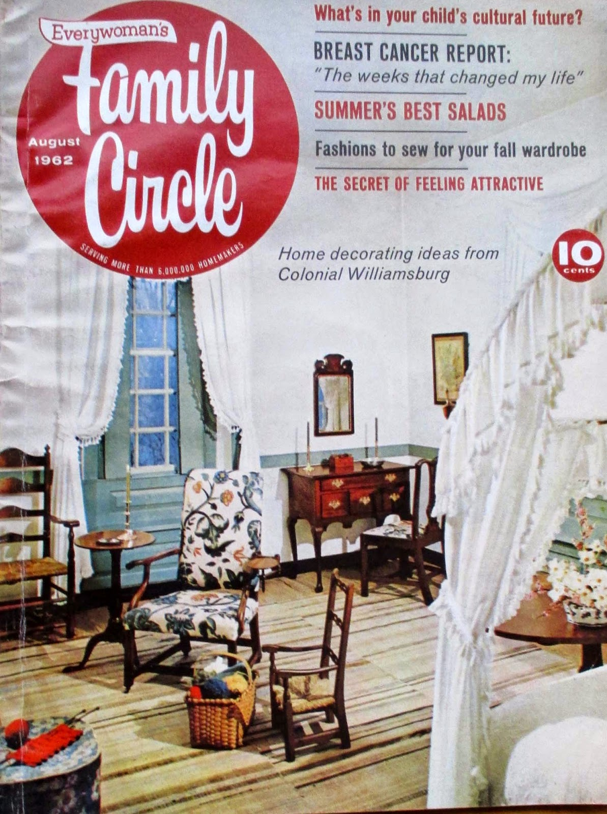 Decorating Ideas From Colonial Williamsburg 1962 Inspirations