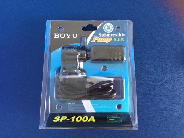 máy bơm Boyu SP 100A bơm và lọc nước, phun oxy