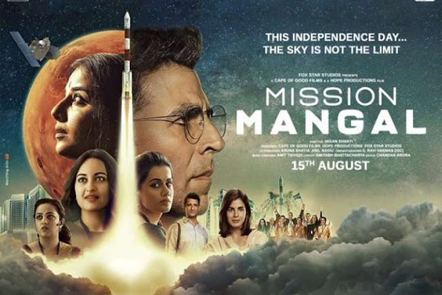 Mission Mangal Full Movie [Pre-DvD] Download | 480p (410MB) | 720p 1.GB