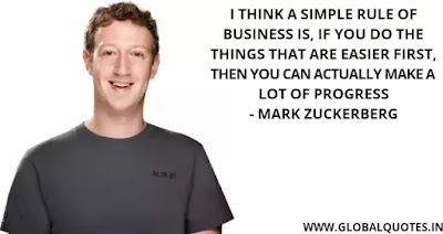 Mark Zukerberg Quotes