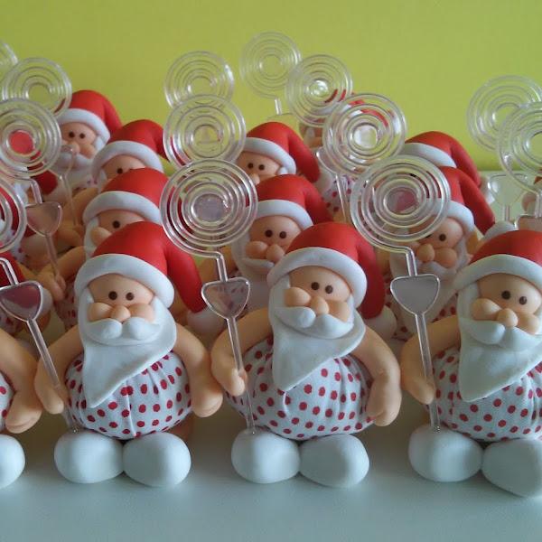 Lembrancinhas de Papai Noel